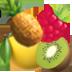 Tropischer Früchtemix